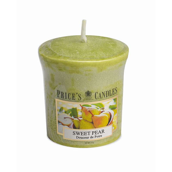 Price's Candle Candela Votiva - Sweet Pear - 58 gr.