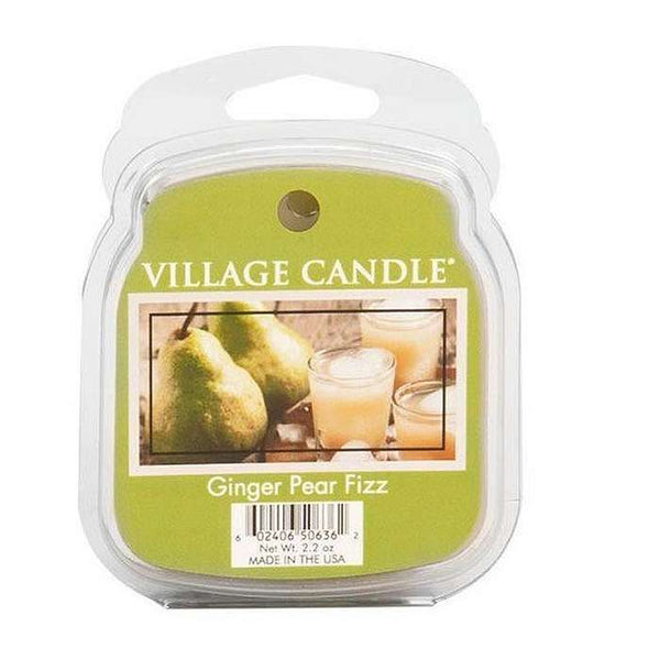 Village Candle Melt Cera - Ginger Pear Fizz - 57 Gr.