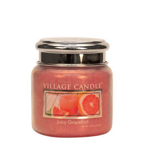 Village Candle Candela Piccola - Juicy Grapefruit - 92 Gr.