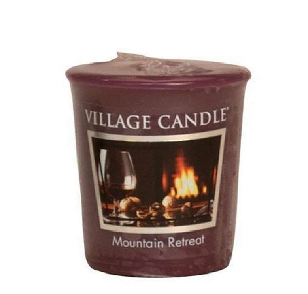 Village Candle Candela Votiva - Mountain retreat - 57 Gr.