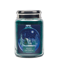 Village Candle Candela Grande - Peace on Earth - 602 Gr.