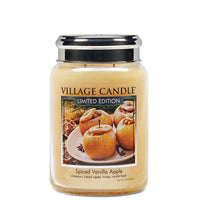 Village Candle Candela Grande - Spice Vanilla Apple - 602 Gr.