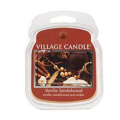 Village Candle Melt Cera - Vanilla Sandalwood - 57 Gr.