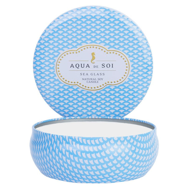 Aqua de Soi Candela in Cera di Soia - Sea Glass Large- 595 Gr.