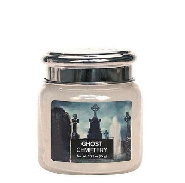 Village Candle Candela Piccola - Ghost Cemetery - 92 Gr.
