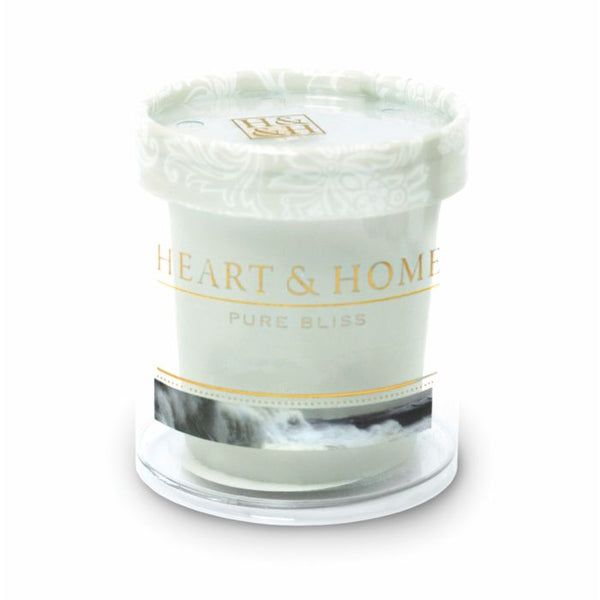 Heart & Home Candela in Cera di Soia - Sensi Intensi - 53 Gr.