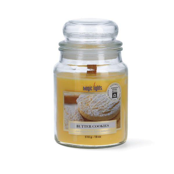 Magic Lights Candela Grande - Butter Cookie  - 510 Gr.