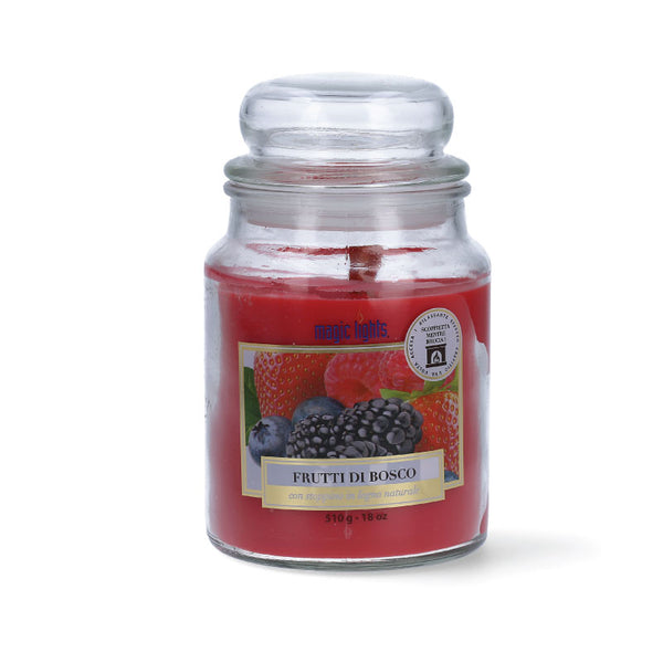Magic Lights Candela Grande -  Frutti di Bosco - 510 Gr.