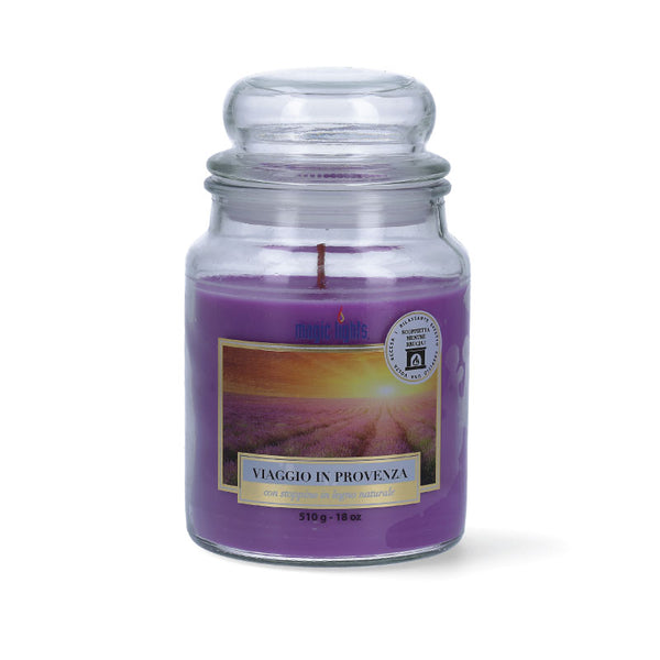 Magic Lights Candela Grande - Viaggio in Provenza - 510 Gr.