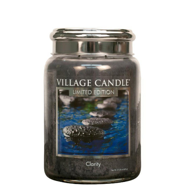 Village Candle Candela Grande - Clarity - 737 Gr.