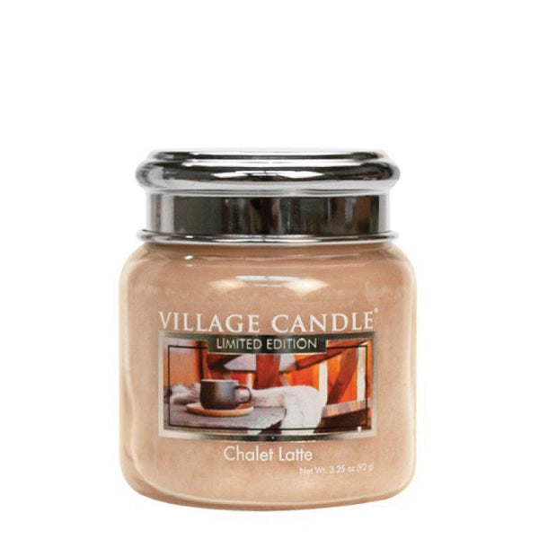 Village Candle Candela Piccola - Chalet Latte - 92 Gr.