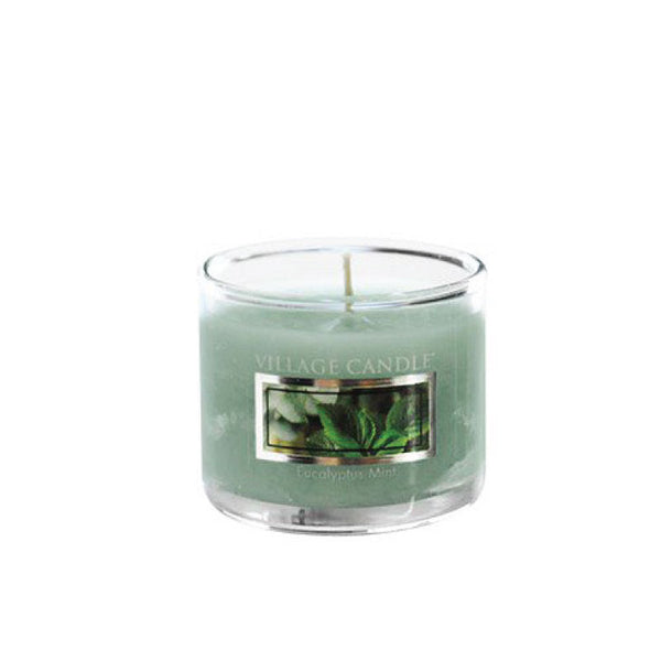 Village Candle Candela Mini - Eucalyptus Mint - 35 Gr.