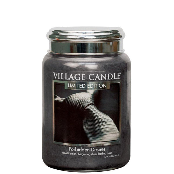 Village Candle Candela Grande - Forbidden Desires - 737 Gr.