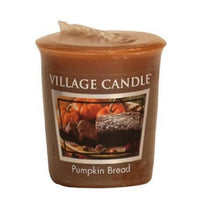 Village Candle Candela Votiva - Pumpkin Bread - 57 gr