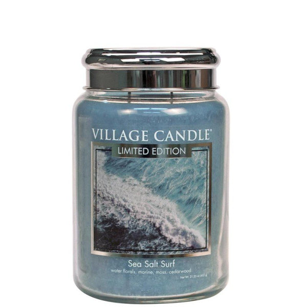 Village Candle Candela Grande - Sea Salt Surf - 737 Gr.