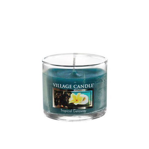 Village Candle Candela Mini - Tropical Getaway - 35 Gr.