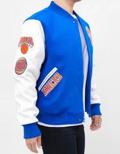 Pro Standard NBA New York Knicks Wool Varsity Heavy Jacket