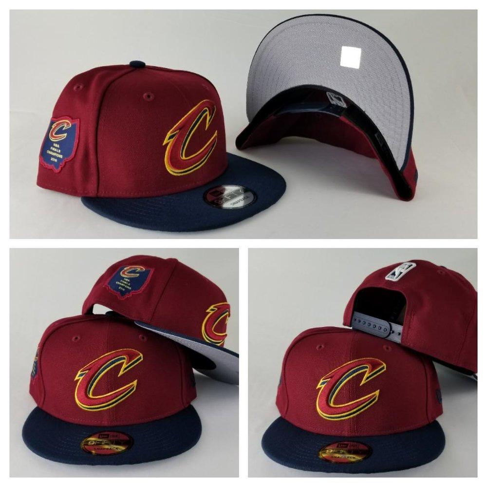 New Era Cleveland Cavaliers NBA 2016 Final Champions side patch snapback
