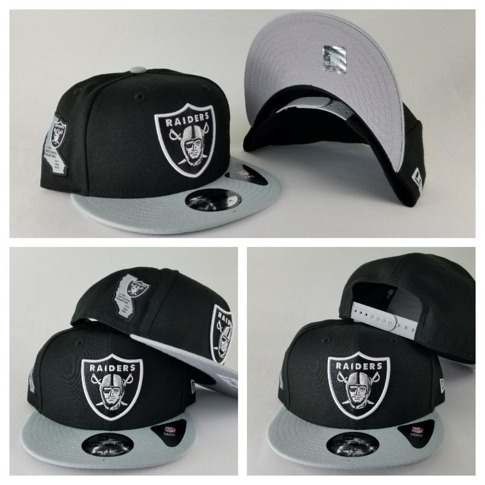 New Era NFL Oakland Raiders 3X Super Bowl Champions 9Fifty Snapback