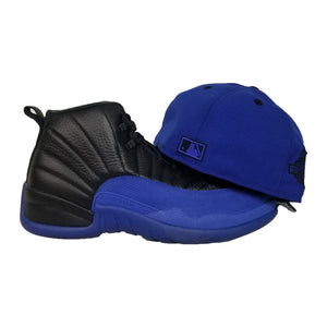 Matching New Era New York Yankees Fitted Hat for Jordan 12 Game Royal