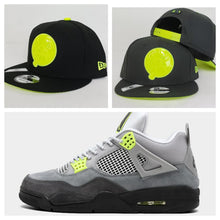 Load image into Gallery viewer, Matching New Era New York Yankees Snapback Hat For Jordan 4 Neon