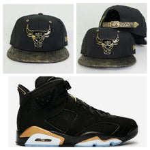 Load image into Gallery viewer, Matching New Era Chicago Bulls Strapback Hat for Jordan 6 DMP