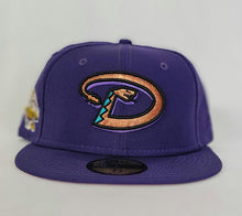 Load image into Gallery viewer, Arizona Diamondbacks Pink Bottom 2001 World Series New Era 59Fifty Fitted