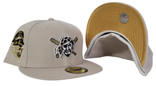 Load image into Gallery viewer, Sand Pittsburgh Pirates Gold Bottom 1959 All Star Game Side Patch New Era 59Fifty Fitted