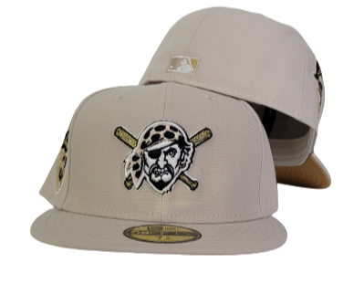 Sand Pittsburgh Pirates Gold Bottom 1959 All Star Game Side Patch New Era 59Fifty Fitted