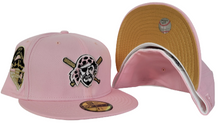 Load image into Gallery viewer, Pink Pittsburgh Pirates Gold Bottom 1959 All Star Game Side Patch New Era 59Fifty Fitted