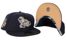 Load image into Gallery viewer, Navy Blue Cincinnati Reds Peach Bottom150th Anniversary side Patch New Era 59Fifty Fitted