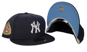 Navy Blue New York Yankees Ice Blue Bottom 1950 World Series New Era 59Fifty Fitted