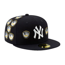 Load image into Gallery viewer, NEW ERA SPIKE LEE X NEW YORK YANKEES CHAMPIONSHIP GOLD TRIM GLOVE 59FIFTY FITTED HAT