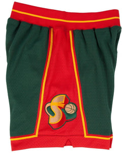 1995-96 Seattle SuperSonics Mitchell & Ness NBA Men's Authentic NBA Shorts