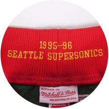 Load image into Gallery viewer, 1995-96 Seattle SuperSonics Mitchell & Ness NBA Men's Authentic NBA Shorts