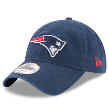 Load image into Gallery viewer, New England Patriots New Era Super Bowl LII 52 Side Patch 9TWENTY snapback Strapback Hat Cap