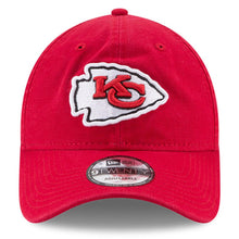 Load image into Gallery viewer, NEW ERA KANSAS CITY CHIEF SUPER BOWL LIV SIDE PATCH 9TWENTY STRAPBACK HAT