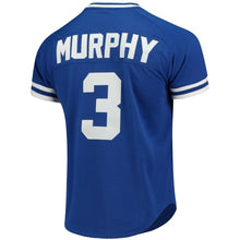 Load image into Gallery viewer, Atlanta Braves Dale Murphy Mitchell & Ness Royal Cooperstown Mesh Batting Practice Jersey