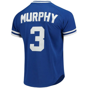 Atlanta Braves Dale Murphy Mitchell & Ness Royal Cooperstown Mesh Batting Practice Jersey