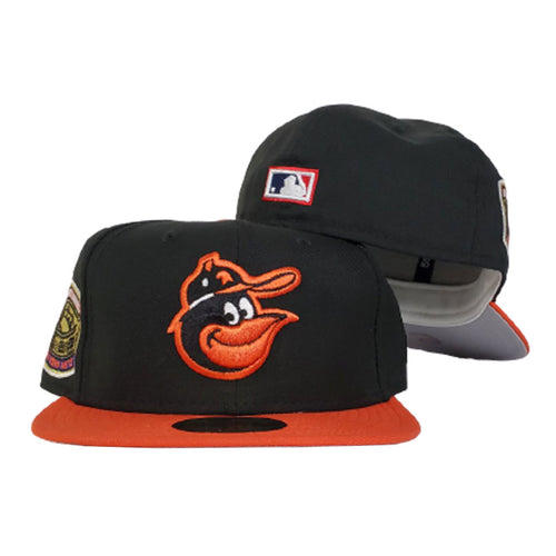 Baltimore Orioles Grey Bottom 1969 World Series New Era 59Fifty Fitted