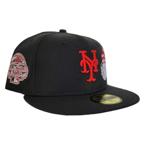 Black New York Mets Red Bottom World's Fair 2013 All Star Game New Era 59Fifty Fitted
