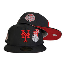 Load image into Gallery viewer, Black New York Mets Red Bottom World's Fair 2013 All Star Game New Era 59Fifty Fitted