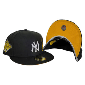 Black New York Yankees Yellow Bottom 1996 World Series Statue of Liberty New Era 59Fifty Fitted