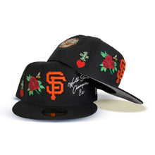 Load image into Gallery viewer, Product - Black San Francisco Giants Logo Impressions New Era 59FIFTY Fitted