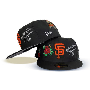 Black San Francisco Giants Logo Impressions New Era 59FIFTY Fitted
