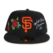 Load image into Gallery viewer, Black San Francisco Giants Logo Impressions New Era 59FIFTY Fitted