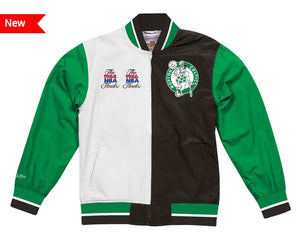 Boston Celtics Mitchell & Ness NBA Men's Team History Warm up Jacket