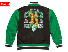Load image into Gallery viewer, Boston Celtics Mitchell & Ness NBA Men's Team History Warm up Jacket