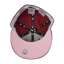 Load image into Gallery viewer, Burgundy Seattle Mariners Pink Bottom 30th Anniversary New Era 59Fifty Fitted