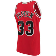 Load image into Gallery viewer, Chicago Bulls 1997-98 Scottie Pippen Mitchell & Ness Red Swingman Jersey